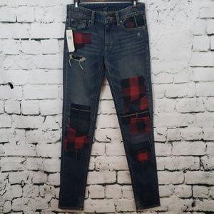 NWT Ralph Lauren Denim & Supply patchwork jeans